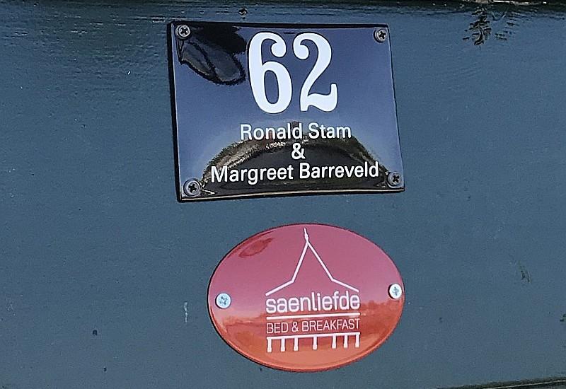 B & B Saenliefde Veerdijk 62 1531 MA in Wormer