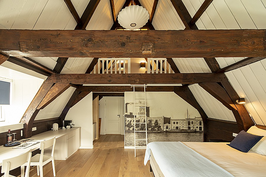Vierpersoonskamer Visser van B&B Saenliefde in Wormer