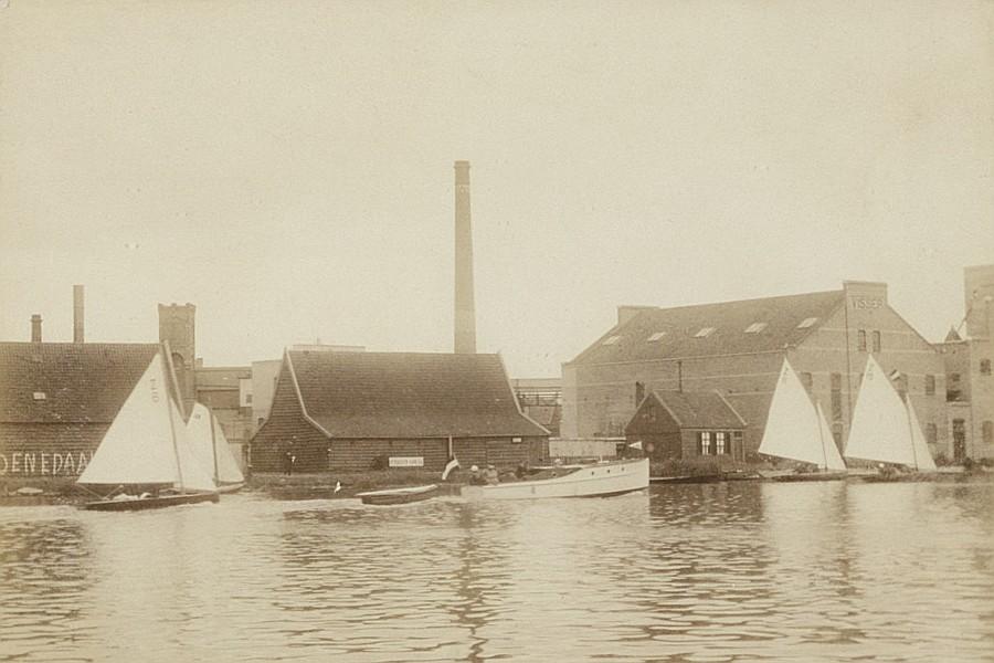 Stoomoliefabriek De Liefde nu van B&B Saenliefde in Wormer