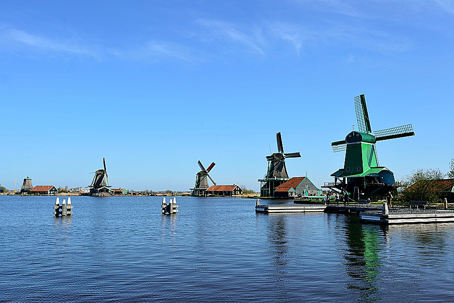 Zaanse Schans less than 5km from B & B Saenliefde